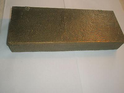Vintage 1910 Apollo Studios NY Hammered Copper Arts & Crafts Wood Lined Desk Box 3