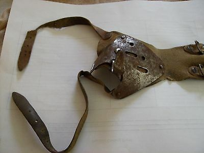 Antique Ear Corn Leather and Steel Multi-color Husker