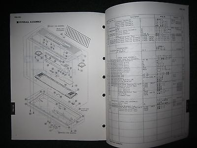 YAMAHA PORTATONE PSR-150 Service Repair Manual Schematics Part List PSR150  1992