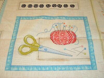 knit and fun Wolle  Stricken Wollknäuel Schere Stricknadel 50x110 cm