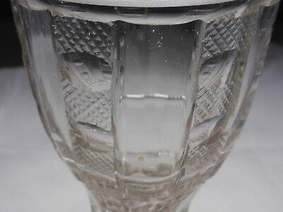 Kelchglas geschliffen graviert Böhmen o. Schlesien 1830-50 (Nr. 1115) 6