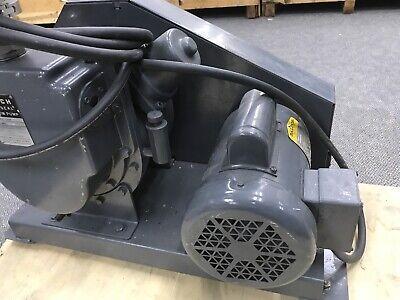 WELCH DUO-SEAL Vacuum Pump Model 1397 W/ Baldor Motor L3510 AWD-D-2-8-001 11
