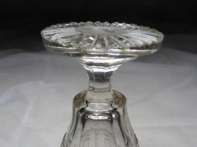 Kelchglas geschliffen graviert Böhmen o. Schlesien 1830-50 (Nr. 1115) 10