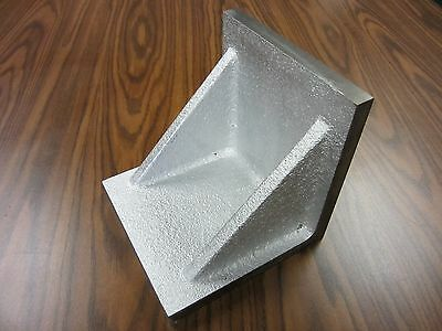 """5x5x5/"""" Plain Angle Plate-high tensil cast iron accurate ground #PAP-555-new"""
