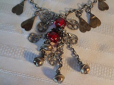 Ottoman Antique Jewelry Silver Necklace Rare And Gorgeous 5