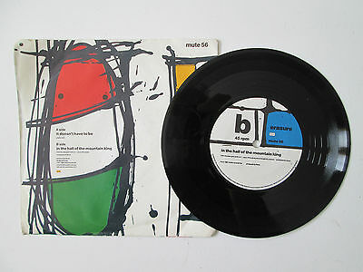 ERASURE  - It Doesnt have to be - 7 inch Single 1987 uk release 2