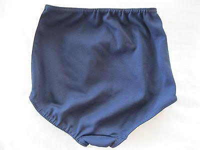 "Gymphlex Girls Athletics Briefs/Underwear Navy Blue size 22"" Age 6-10 yrs BNIB 3"