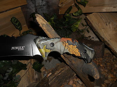 Knife/Bowie/Cleaver/Machete/Full tang/5MM/Hunting/Camping/Survival/HEAVY DUTY/FC 3