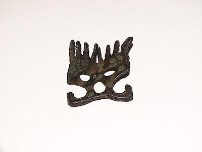 Traditional pagan female zoomorphic Viking pendants comb. ca 800-1000 AD 4