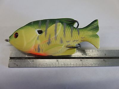 """1 New 3-1/2"""" Sunfish Topwater Fishing Lure  *S2* 2"""