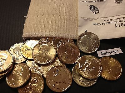 P D Presidential Native Golden Susan Anthony Roosevelt Dollars 1//2 U.S Mint Bag