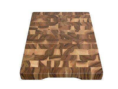 Wood, Handmade, Cutting Board End Grain with Feet, Butcher Block, Chopping Board 3