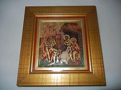Heinrich Miniatura Icono Escena 3: Nacimiento De Cristo con+Certificado Nº 1795 2
