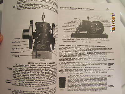 1919 Fairbanks Morse model ZA Gas Engine with Bosch  Instruction/Parts  Manual 3