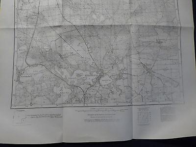 Landkarte Meßtischblatt 3457 Königswalde / Lubniewice i.d. Neumark, 1934, Polen