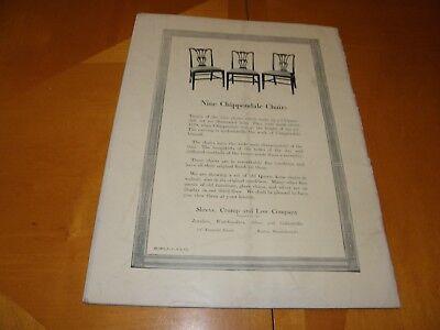 Antiguedades Revista V2 #2 August 1922 Muebles Relojes Textiles Cristalería Art 2