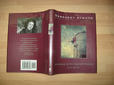 Margaret Atwood Morning in the Burned House Signed 1st poems Booker Prize Winner 7
