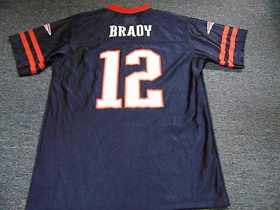 reputable site 8de89 5157c NFL TEAM APPAREL New England Patriots Tom Brady Blue Youth Jersey Size Xl  16-18