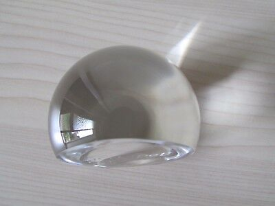 Tyrone Crystal Paperweight, Godspell 1995, Tyrone Etch Mark/label.
