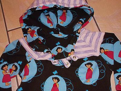 HEIDI Hoodie Kapuzenpullover Shirt - Langarm WIE VON DAWANDA Gr 74-80 HEIDIMOTIV 3
