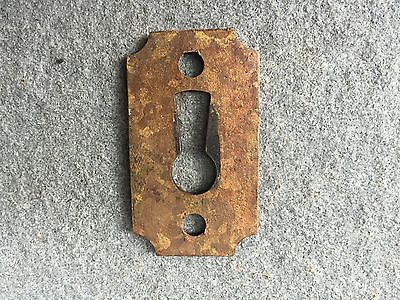 Brass, Ornate Key Hole Escutcheon 2