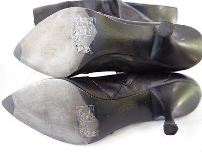 7d74976dd3c62d ... ASH bottes cuissardes mousquetaire qualité talon CUIR noir T 39 Parfait  état 10