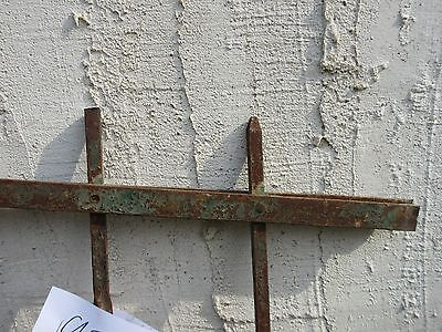 Antique Victorian Iron Gate Window Garden Fence Architectural Salvage #928 5