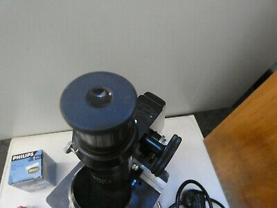 (4816) Altes Mikroskop W u. H. Seibert Wetzlar Nr. 40557 mit Zubehör 6