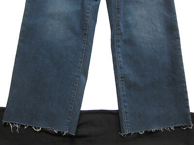 New Womens Blue Crop Ankle Wide Leg NEXT Jeans Size 16 14 12 10 6 RRP £28 6