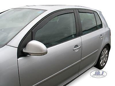 SET 4 DEFLETTORI ARIA  ANTITURBO per VW GOLF V  5 PORTE 2004 - 2008 4