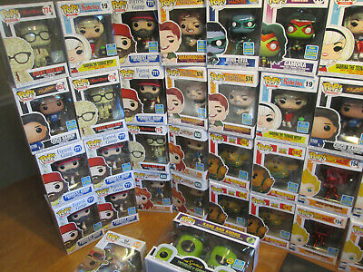 Funko Pop Sdcc 2019 Summer Convention San Diego Comic Con Shared Rare Complete 2