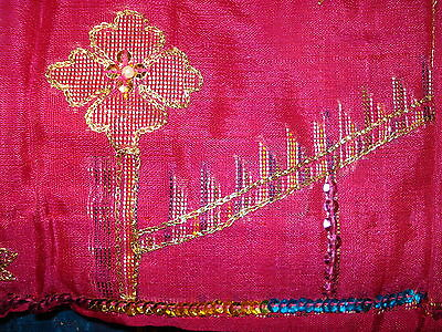 Ladies Indian Saree -Silk With Heavy Work On Pallu & Gorgeous Colour Combination 5