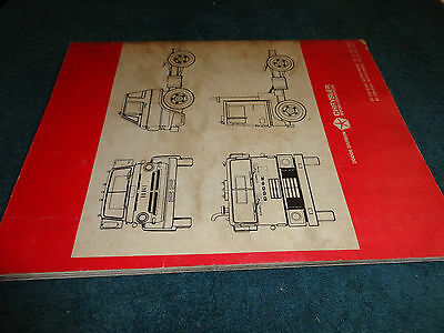 1968 DODGE TRUCK Shop Manual / Original Mopar Service Book / Service on