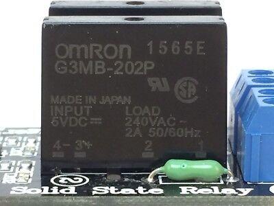 2 Stücke 5 V 1 Kanal Omron Ssr G3MB-202P Solid State Relaismodul Für Arduino zt