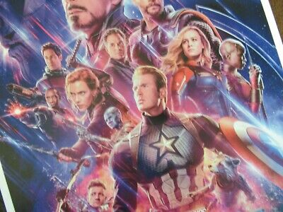 """Avengers -  Endgame ( 11"""" x 17"""" ) Movie Collector's Poster Print ( T2 )- B2G1F 5"""