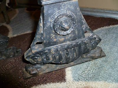 Antique Fireplace Andirons Jenny Lind 3