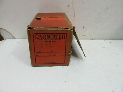 1934 281S TERRAPLANE W1 CARTER WCFB BRASS CARBURETOR TAG-DATE OF YOUR CHOICE