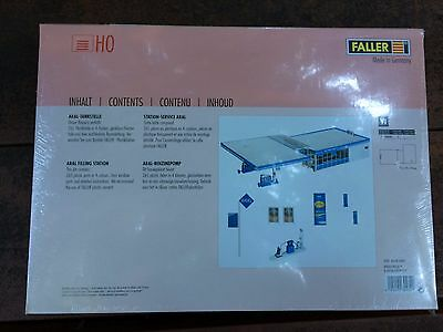 ARAL filling station Faller 130482 HO 1//87 Station-service ARAL