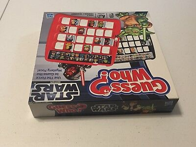 Guess Who? - Star Wars Edition - Hasbro - COMPLETE - Board Game - Nice! 9