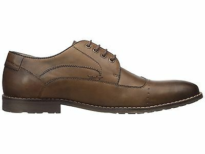 a950ae1c4a3 Steve Madden Men's Kyngdom Wingtip Oxford, Tan Leather