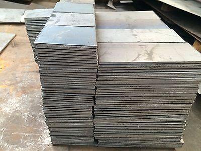 """1/4"""" .250 HRO Steel Sheet Plate 8"""" x 12"""" Flat Bar A36 3"""