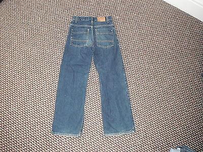 "Next Loose Jeans Waist 26.5"" Leg 26"" Faded Dark Blue Boys 11 Yrs Jeans 3"
