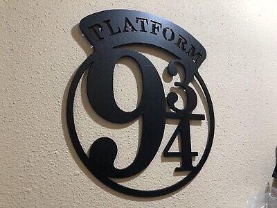 Harry Potter Platform 9 3/4 Metal Wall Sign 5