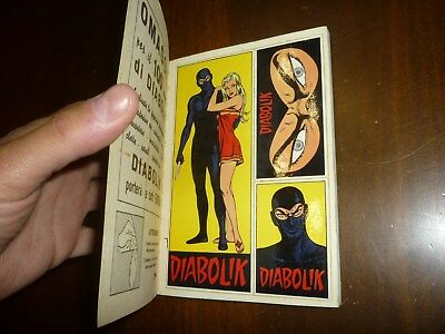 Diabolik Anno Vi Numero 24 Con Adesivi Astorina 1967 Originale - Ottimo !! 2