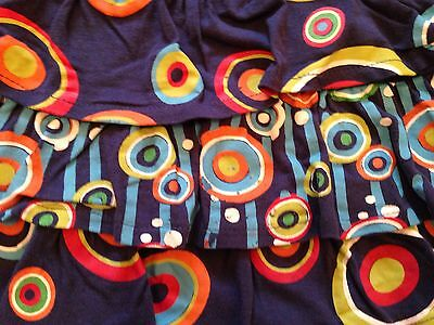 Designer U2 BS Barcelona Royal Blue Multi Print Outfit Shorts And Top Age 4 5