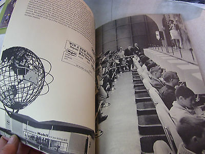 Amazing 1964 Mobil's Worlds Fair Offers and Events Booklet