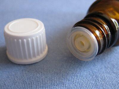 8 x Tropfflaschen DIN 18 Braun Glas Flasche Tropf Tropfeinsatz 20ml 50ml 100ml * 3
