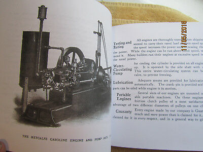 Metcalfe Manufacturing Quincy PA  Gas Engine  Catalog All sizes 3