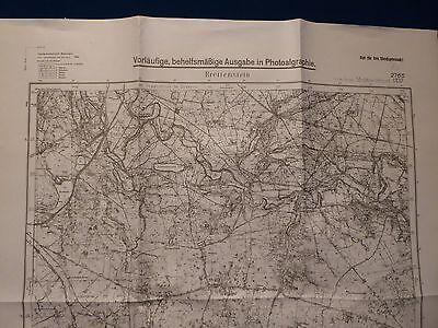 Landkarte Meßtischblatt 2765 Breitenstein / Dobino, Posen, Deutsch Krone, 1945