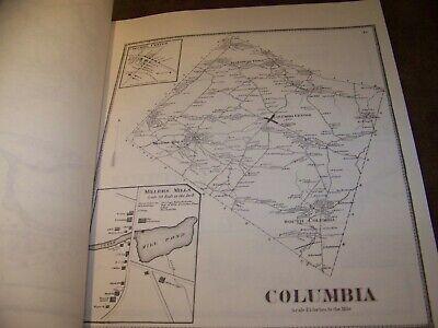 1868 Herkimer County Ny Atlas Map Fw Beers Little Falls Warren Ohio 1977 Reprint 3